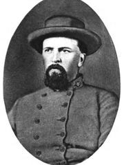 "Isaac Erwin Avery, in uniform, from ""Biographical History"