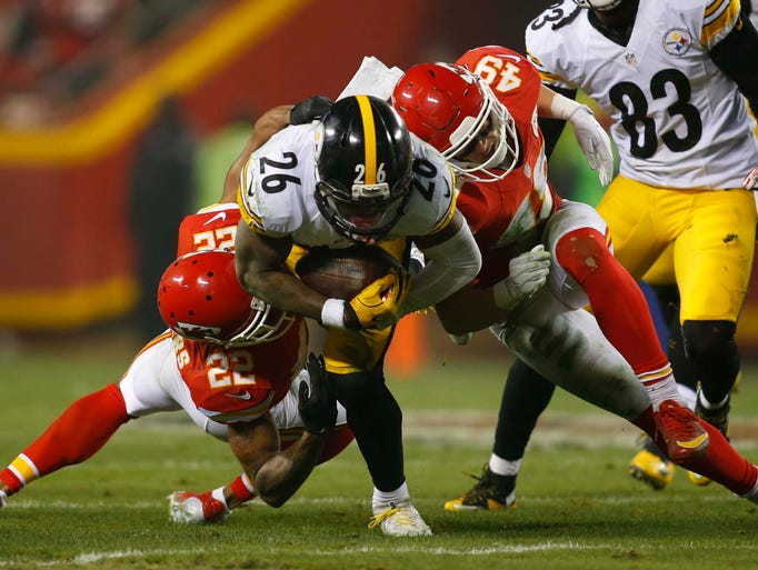 Le'Veon Bell was another former MSU player whose offseason