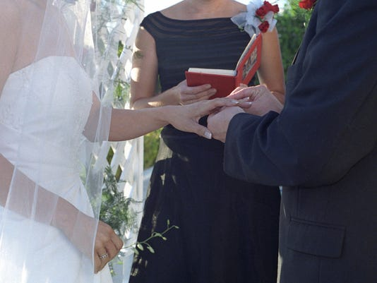 More couples choosing nonclergy officiants for nuptials