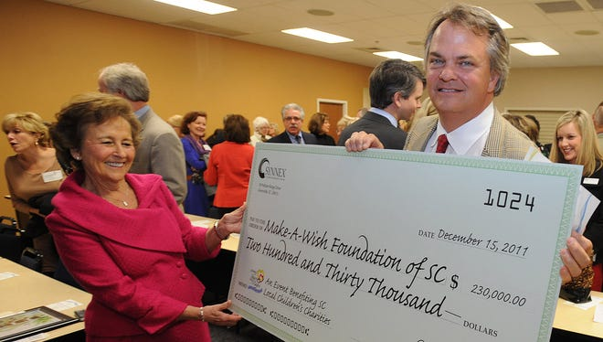 Russell Smith, former president of Make-A-Wish South Carolina, pictured in a 2011 photo.
