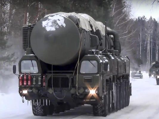 Russia Missile Drills