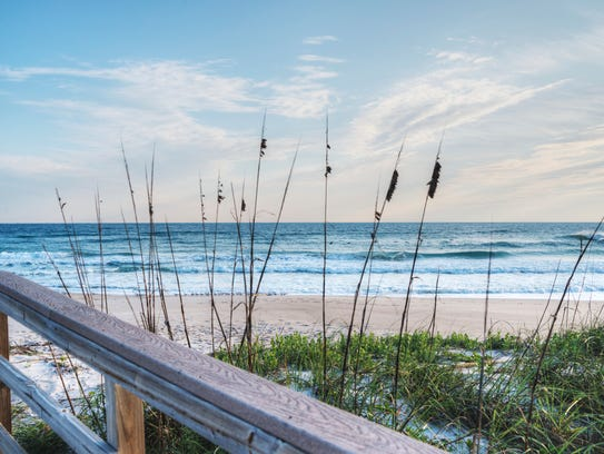 Canaveral National Seashore is home to one of the beaches