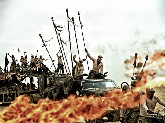 """A scene from """"Mad Max: Fury Road."""""""