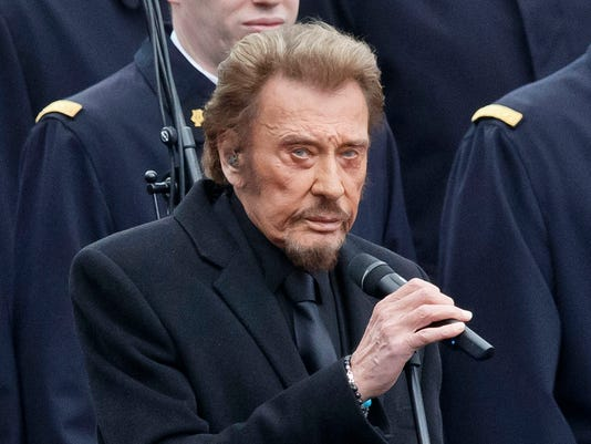 AP FRANCE OBIT JOHNNY HALLYDAY I ENT FILE FRA