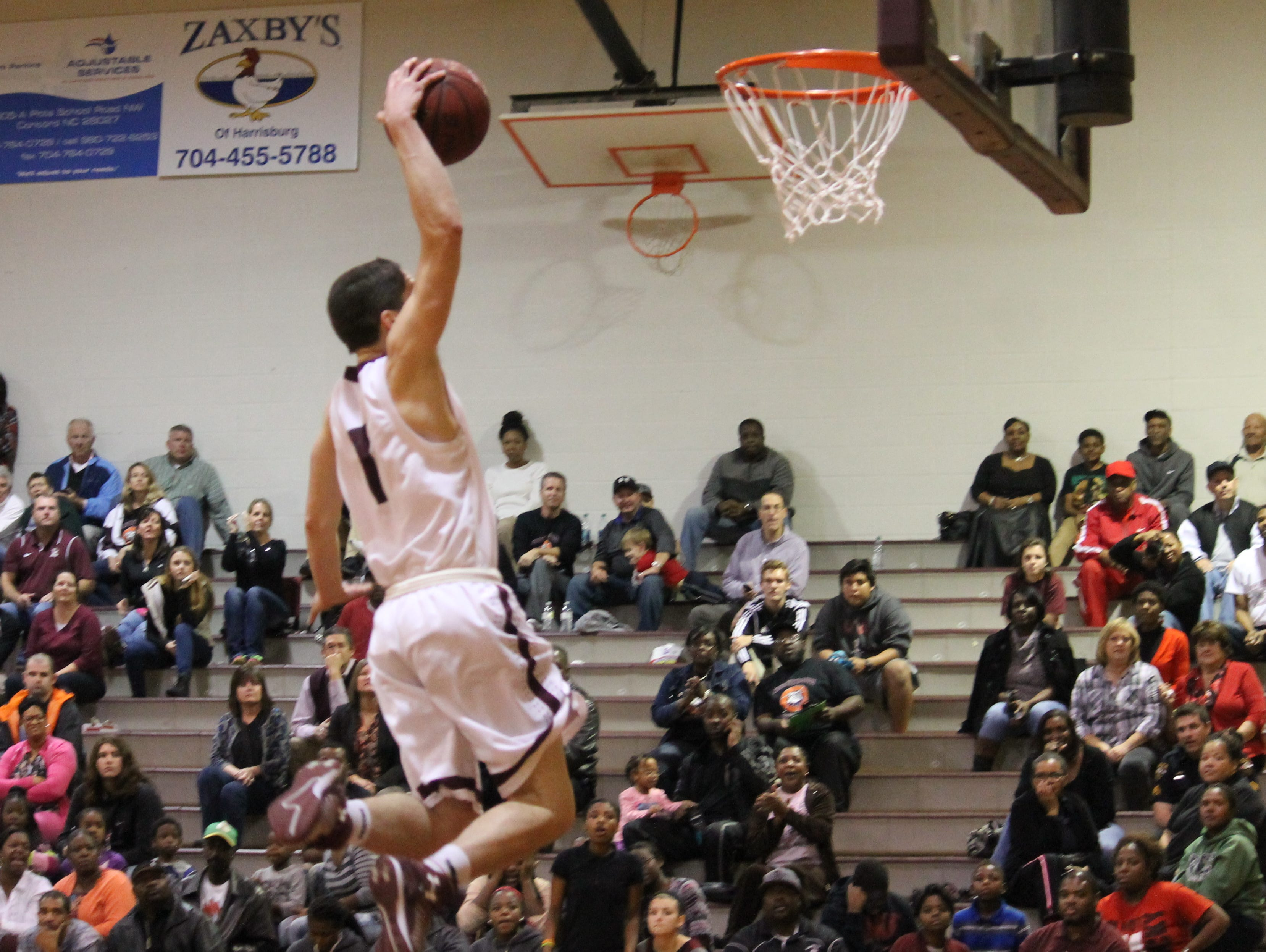 Jordan McKenzie is one of four Jay M. Robinson Bulldogs who averages double figures per game.