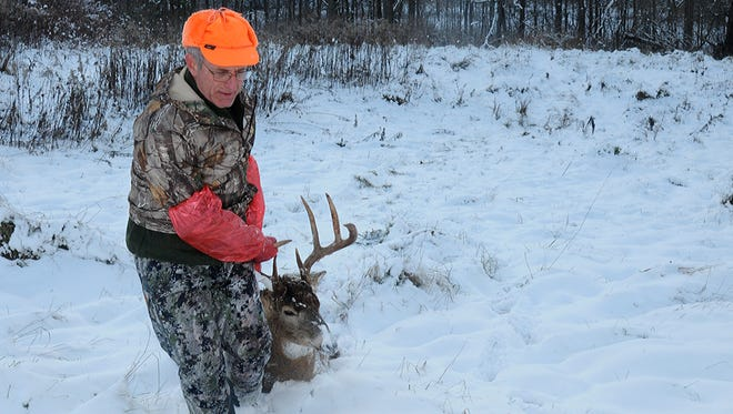 Gov. Walker is encouraging hunters to get more involved in the state's efforts to deal with chronic wasting disease.