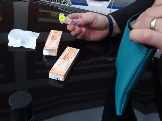 A Narcan kit  being carried by all Ross County Sheriff's