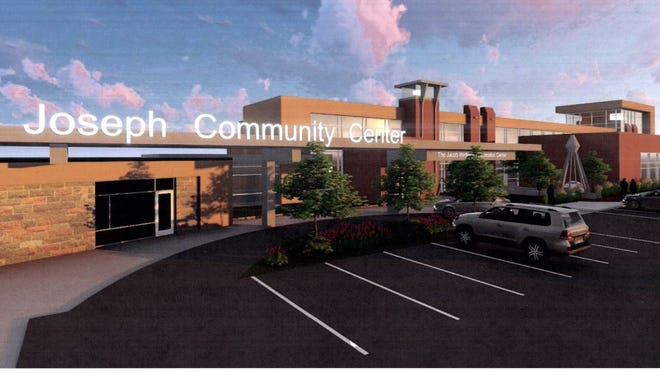 Preliminary plans for a community center in St. Joseph include the Jacob Wetterling Recreation Center.