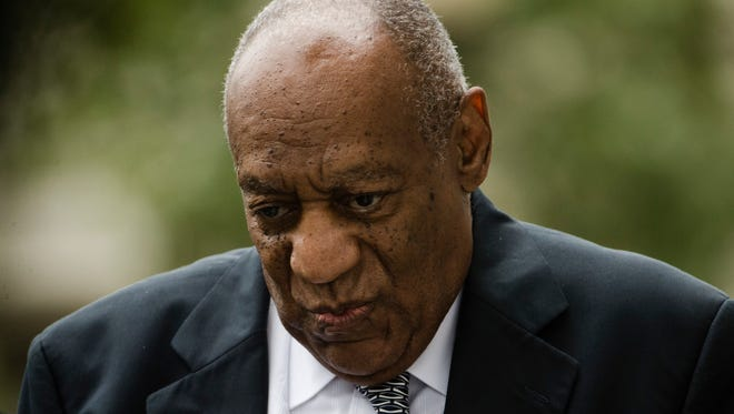 Bill Cosby at his sexual assault trial in Norristown, Pa., June 16, 2017.