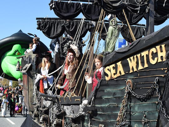 The Sea Witch Festival in Rehoboth Beach includes a parade in addition to an eclectic mix of other events.