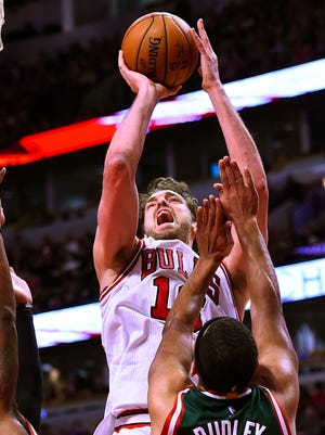 Pau Gasol notched his 20th double-double of the season with 46 points and 18 rebounds.