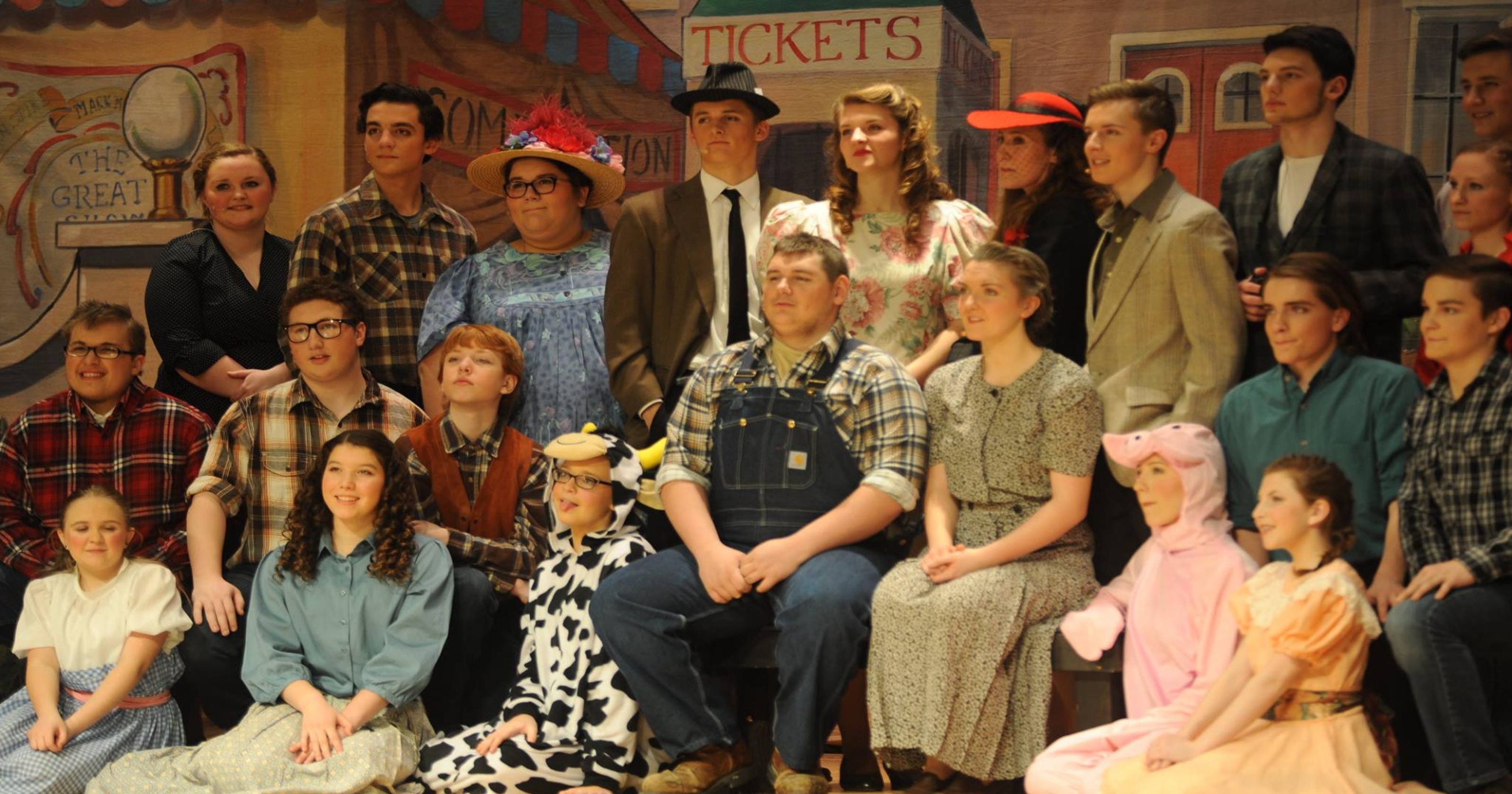 """GHS Drama Club prepares to """"fly high"""" with 13th musical"""