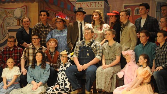 """the cast from last year's GHS Drama Club's production of """"State Fair."""""""