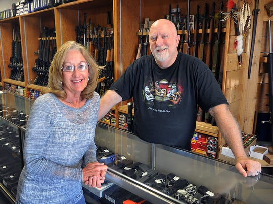 Ted and Becki Knox are owners of Texas Knifeworks and Guns and will hold a grand opening for their store June 30 and July 1. The business recently completed an expansion that doubles their original square footage.