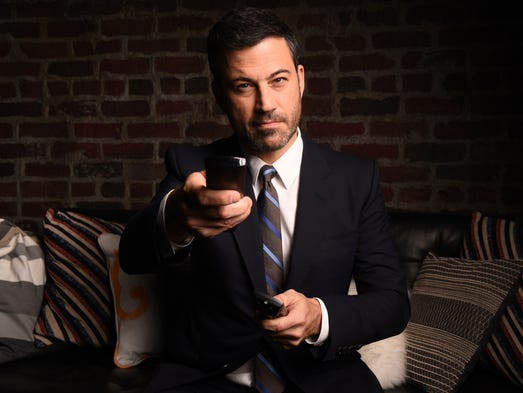 "Jimmy Kimmel, host of the late-night talk show ""Jimmy"