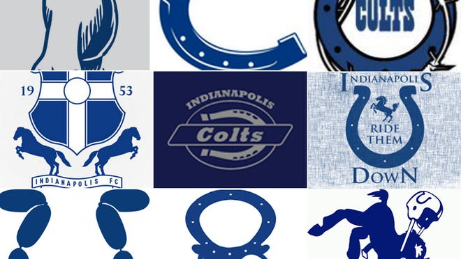 Colts re-imagined logos