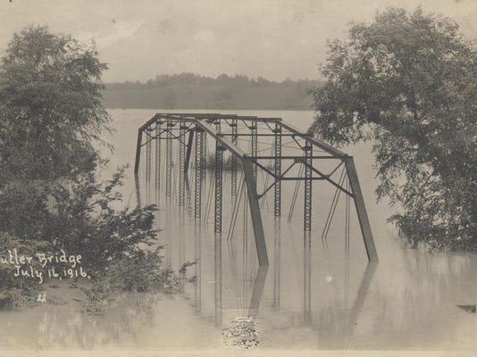 BUTLER BRIDGE - FLOOD OF 1916