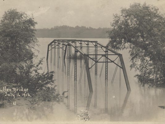 BUTLER BRIDGE - FLOOD OF 1916