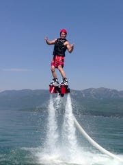 Flyboard of Montana offers flyboarding on Whitefish