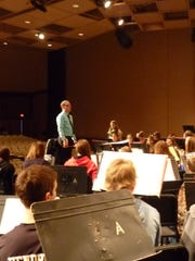 West High hosted the bands of Carl Traeger, Perry Tipler and South Park middle schools during Eighth Grade Band Day on Dec. 5.