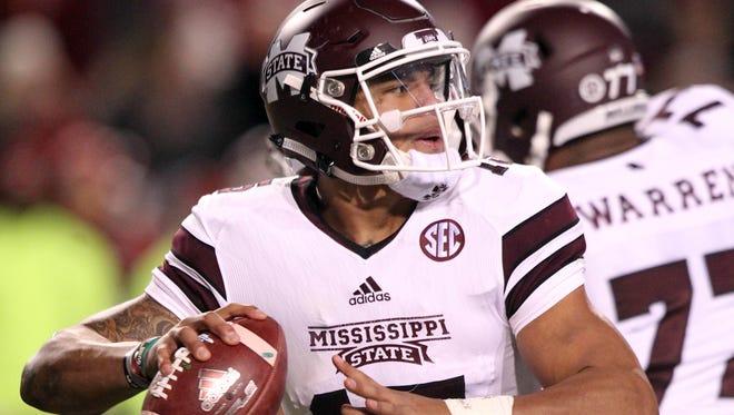 Mississippi State quarterback Dak Prescott.
