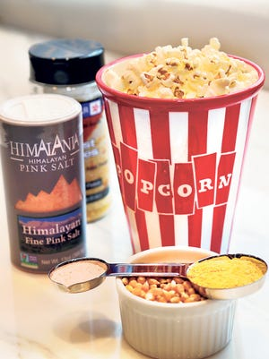 Your kids will enjoy this  popcorn. A bonus:  It's easy to prepare!
