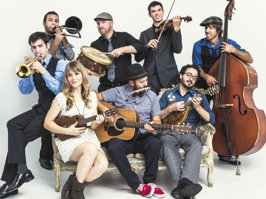 The Dustbowl Revival will stop Friday at the Dock.