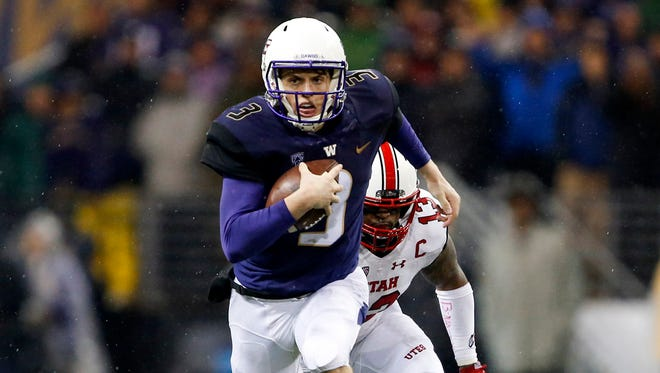 Washington faces Utah in a huge Pac-12 showdown Saturday. It's among the college football games to watch this weekend.