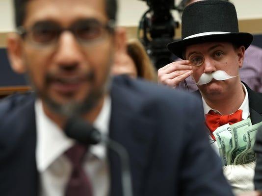 *** BESTPIX *** Google CEO Sundar Pichai Testifies Before House Judiciary Committee