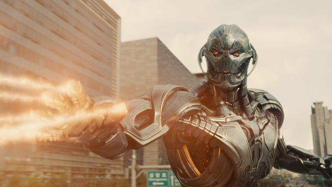 """Ultron (James Spader) in """"Avengers: Age of Ultron."""""""