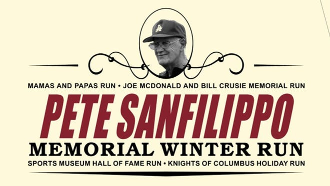 An image of the T-shirt for the 2017 Pete Sanfilippo Winter Run.