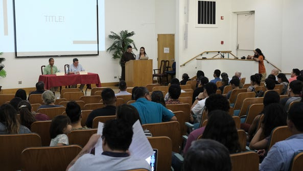 Dozens of people attended the decolonization forum
