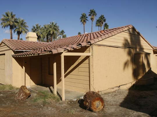 La Serena Villas was built as a 27-unit hotel in 1933. Over the years, the property fell into disrepair as seen in this 2008 Desert Sun file photo. The hotel has been restored and re-opened.