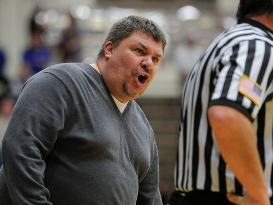 Like Wilgus, Bosse coach Shane Burkhart isn't afraid to give an official an earful. His Bulldogs are ranked No. 2 in the AP 3A poll and No. 14 in the single-class IBCA poll.