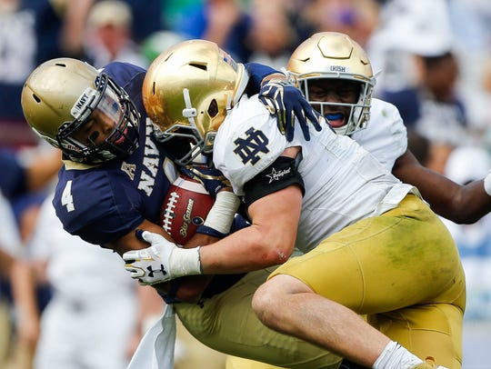Notre Dame will look to avenge last year's loss to