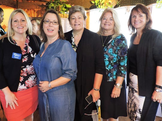Tammy Calabria of Children's Museum of the Treasure Coast, Nancy Turrell of Arts Council of MC, Nancy Polltsch of Lighthouse Art Cebter, Jacki Jackson of Early Learning Coalition of Indian River, Martin and Okeechobee Counties and Joanne Towner of Boys & Girls Clubs of MC