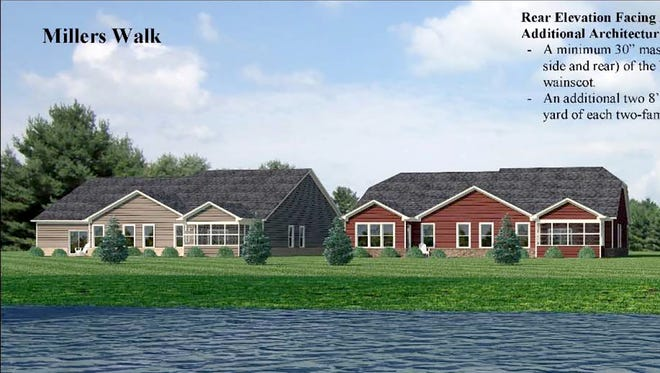 Miller's Walk in Noblesville in attached homes.