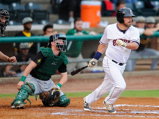 John Schultz is the Otters' all-time leader in hits,