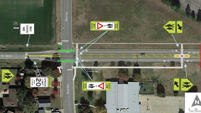 Changes could be coming to 12th street in front of Newton High School.