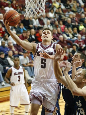 The Sporting News tabbed Bellarmine guard Rusty Troutman as an honorable-mention All-American.