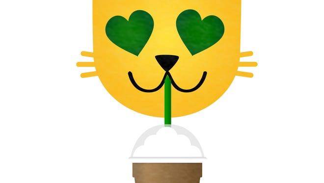 Starbucks sticker for IOS 10