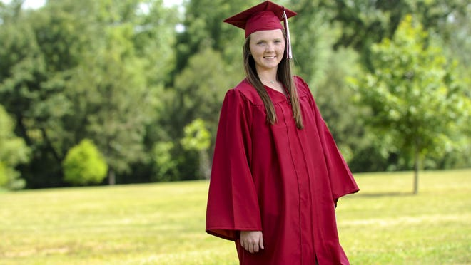Breanna Alexander graduated from Hartselle High School in May 2020.