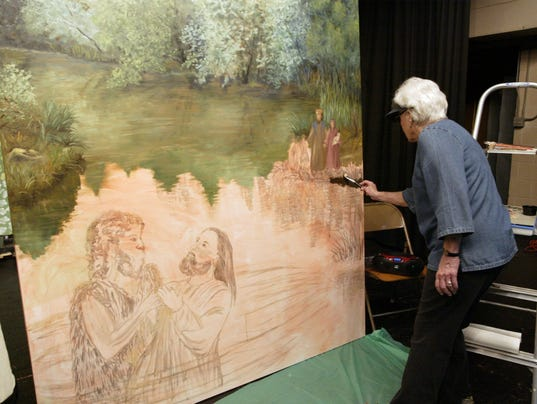 Artist Says God Guides Her Last Major Project