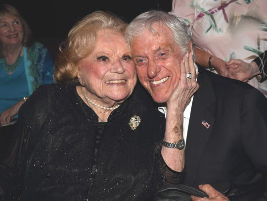 Recent photo Rose Marie and Dick Van Dyke