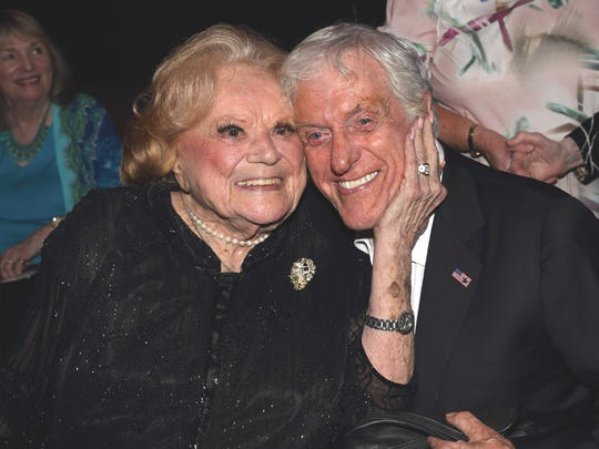 Recent photo Rose Marie and Dick Van Dyke