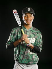 Regis baseball's JaVon Logan for the Statesman Journal