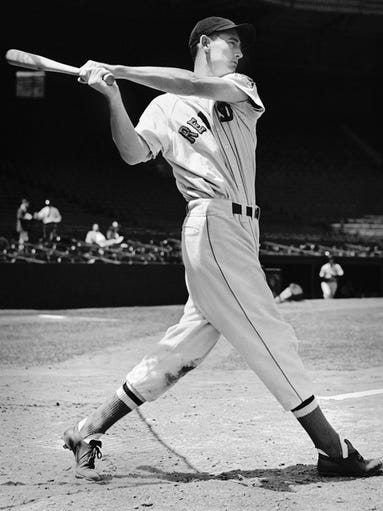 The fate of Ted Williams' last bat