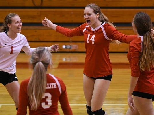 High School Volleyball: Class 6A-14 tournament