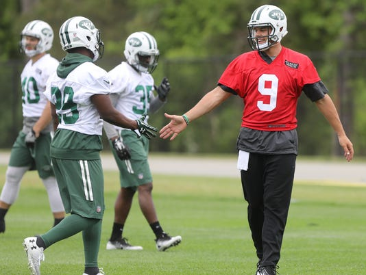 New York Jets -- OTA's --