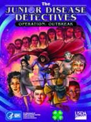 The Junior Disease Detective is a work of fiction designed